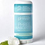 Honestly pHresh Phree No Scent Added Prebiotic Deodorant 2.25 oz