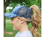 Classic High Ponytail Ball Cap  CC Beanie