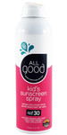 SPF 30 Kids Sunscreen Spray, Water Resistant, 6 oz All Good