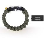 The Kodiak Survival Paracord Bracelet Made in the USA