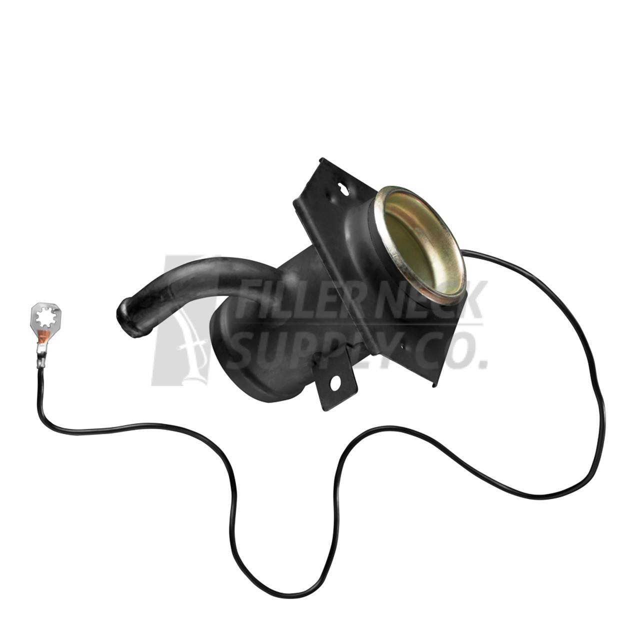 Cab Chassis Service Body Flatbed Fuel Filler Neck Pipe Hose Fns on 1997 Dodge Flatbed