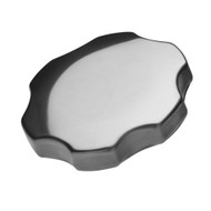 Vented Bayonet Cap With Finger Grips (Fits 2.28 OD Necks).