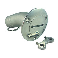 """30 Degree Angled Marine Deck Fill 1-1/2"""" (With 3"""" Inch Flange)."""