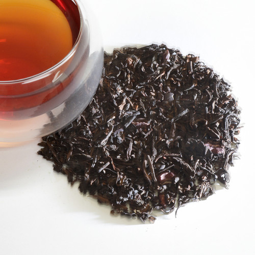 Pu-Erh Hazelberry Black Loose Leaf Tea