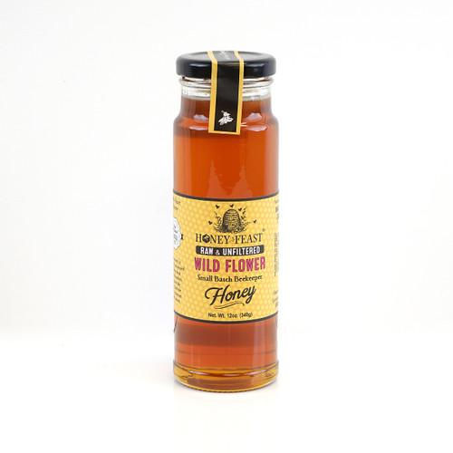 WILDFLOWER HONEY 12oz Honey Feast