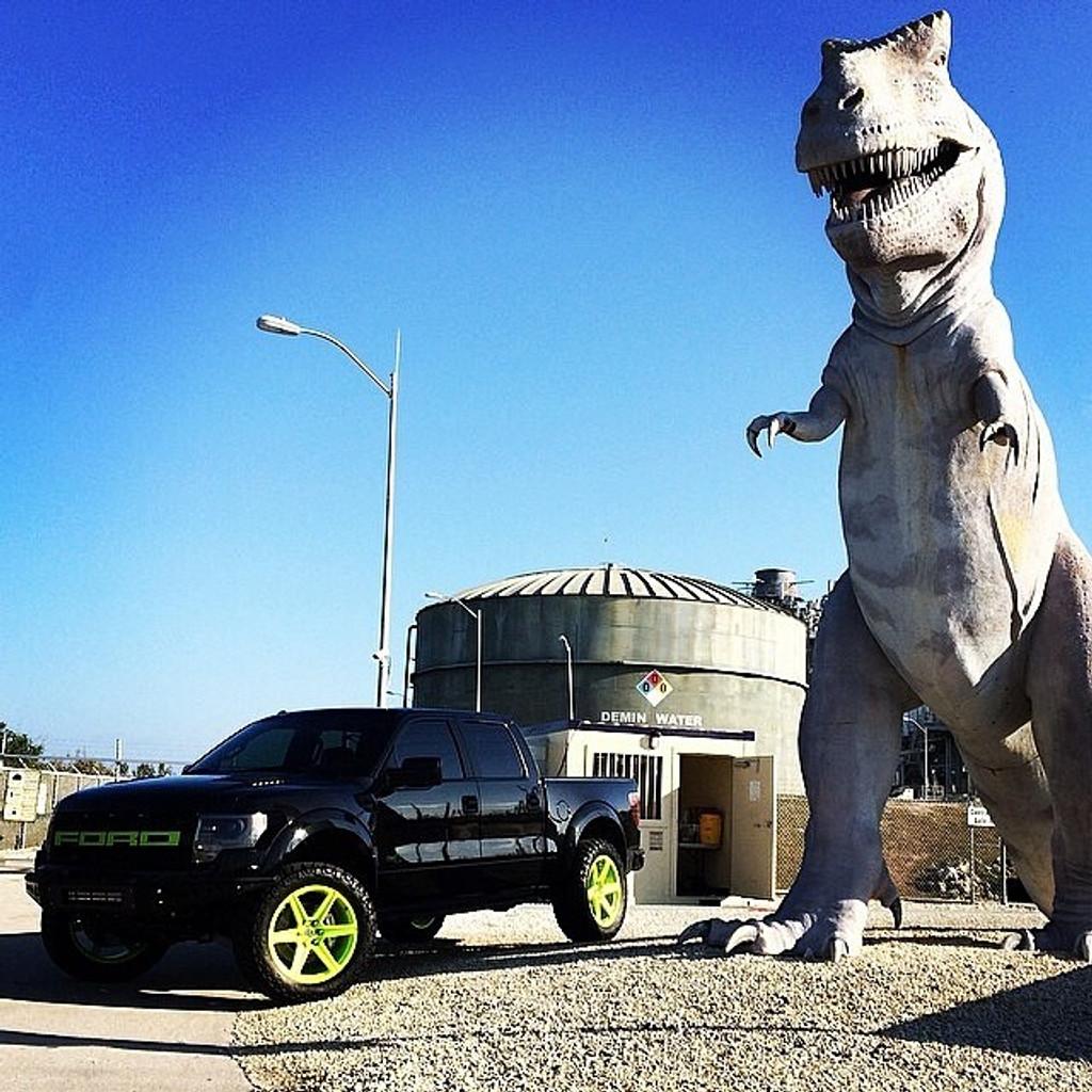 Ford Raptor Titanium Closed Ended Lug Nut Set