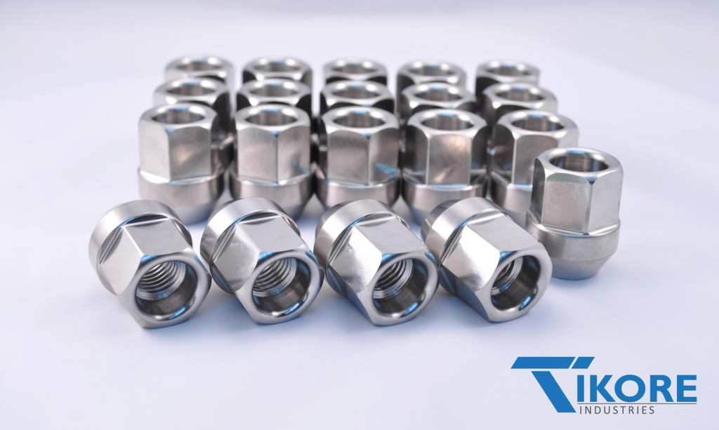 Subaru WRX STI Titanium Open Ended Lug Nut set