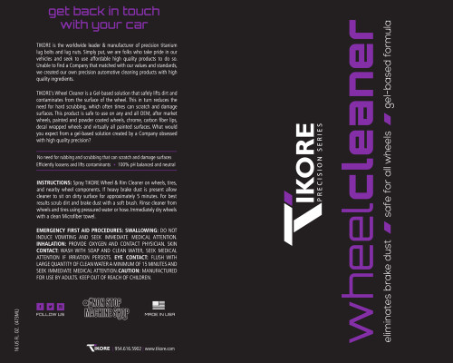 TIKORE Wheel Cleaner (Precision Series) – Purple/Grape