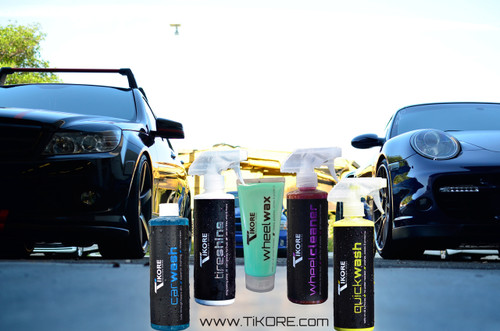 TIKORE (Precision Series) Car Care Package
