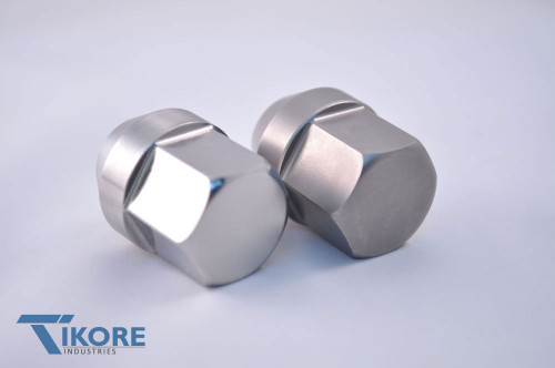 Ford Mustang Titanium Closed End Lug Nut Set