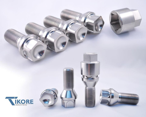 Rolls Royce Titanium Lug Bolt Set + Security