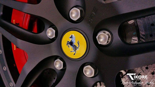 Ferrari Titanium Lug Bolt Set - OEM style 52mm