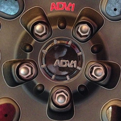 Audi Titanium Lug Bolt Set + Security
