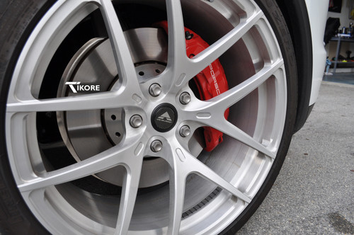 Matte titanium install with Vorsteiner wheels