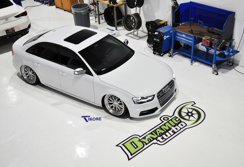 TiKORE x Slammed S4 Audi