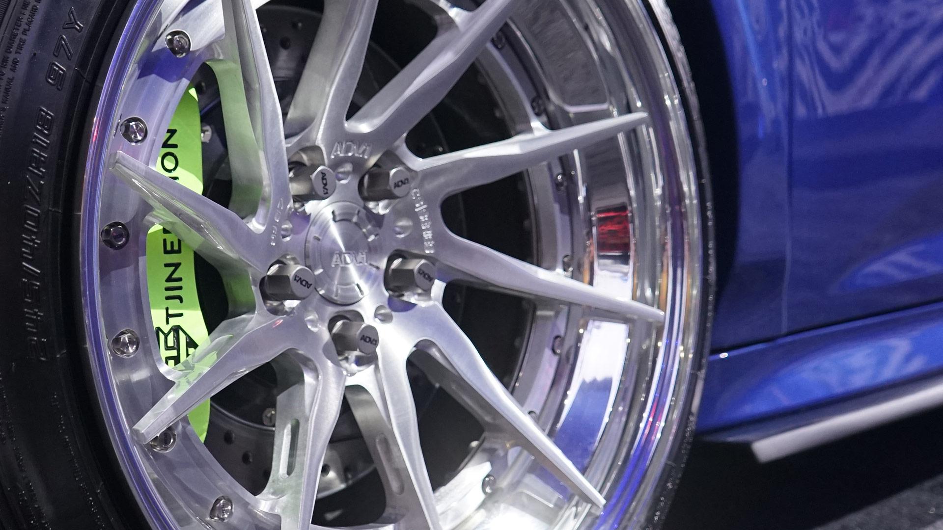 SEMA Ford Fiesta Extended Lug Nuts