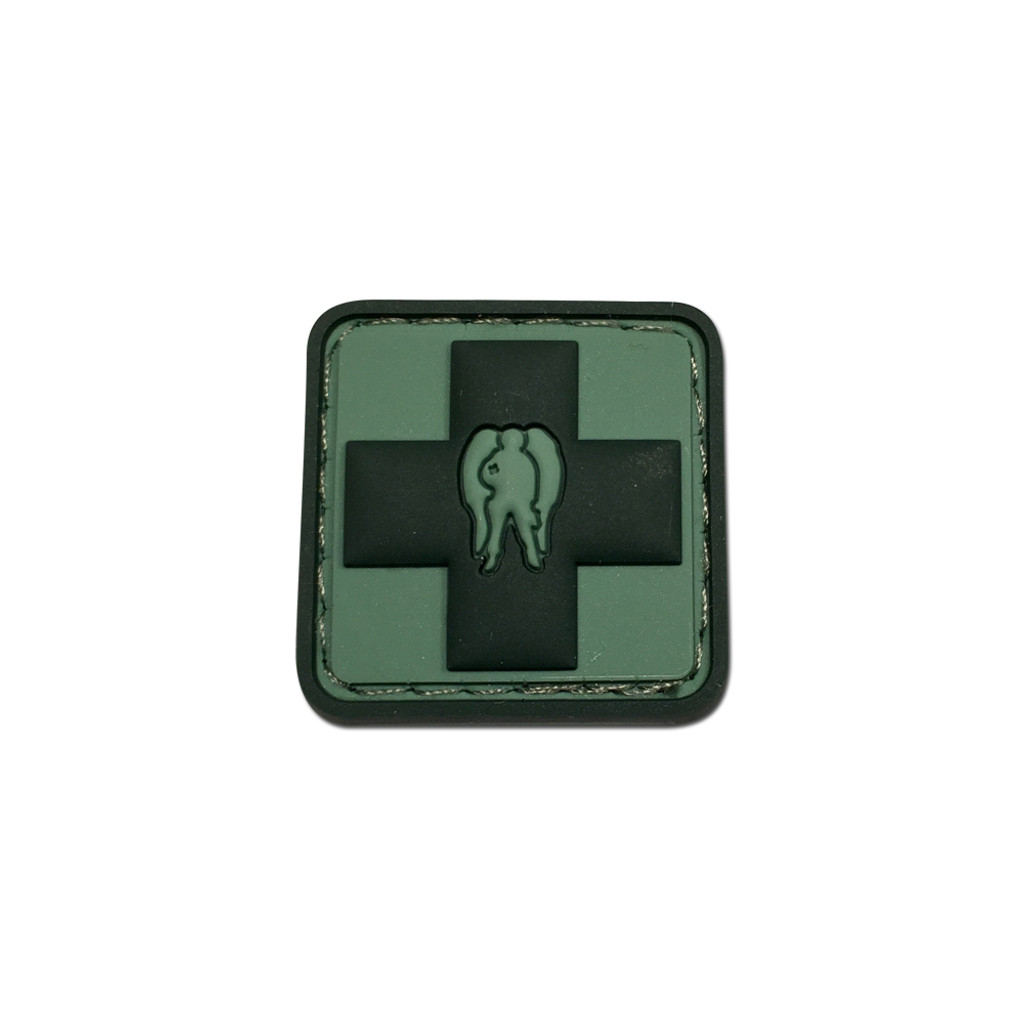 Dark Angel Medical Cross PVC Patches
