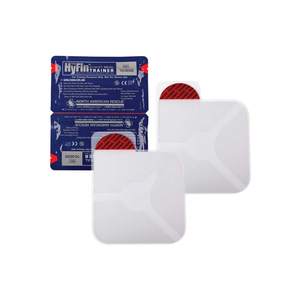 Hyfin Chest Seal Twin Pack - Trainer