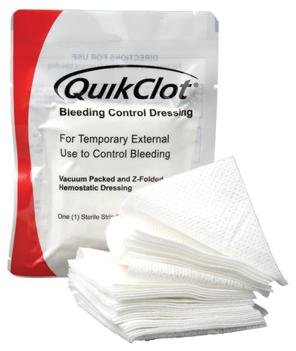 QuikClot Bleeding Control Dressing 12' (4 yards)