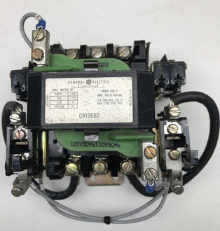Cr206do general electric motor starter for General electric motor starters