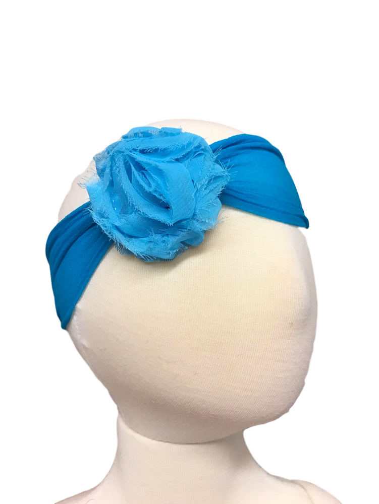 Sheer Headband w/ Shabby Chic