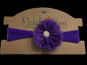 Sheer Headband w/ Jewel Ballerina