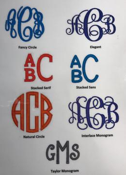 Classic Monogram Bow
