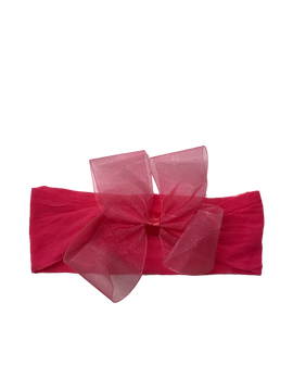 Sheer Headband with Bow