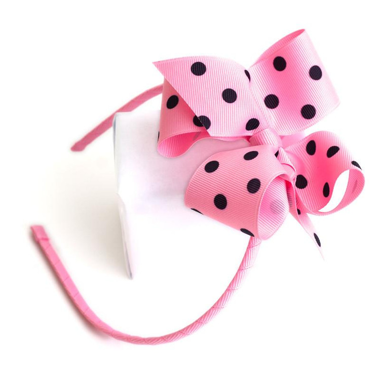 Skinny Headband With Bow