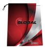 900 Global Red Curve Shoe Bag