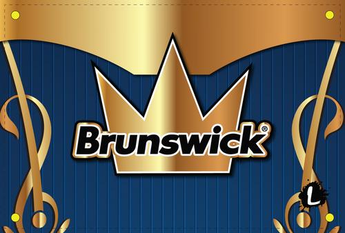 Brunswick Blue/Gold Dye Sublimated Banner