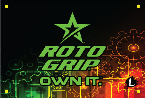 Roto Grip Gears Dye Sublimated Banner