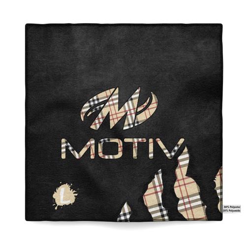 Motiv Primal Plaid Sublimated Towel