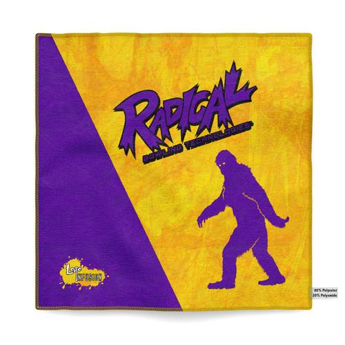 Radical Gold/Purple Yeti Dye Sublimated Towel