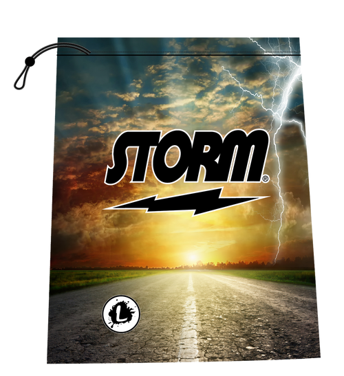 Storm On the Road Shoe Bag
