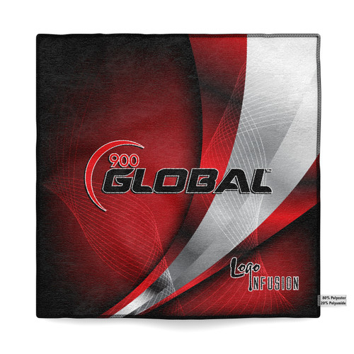900 Global Red Curve Sublimated Towel