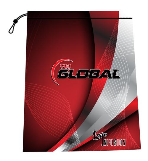 900 Global Red Curve Shoe Bag
