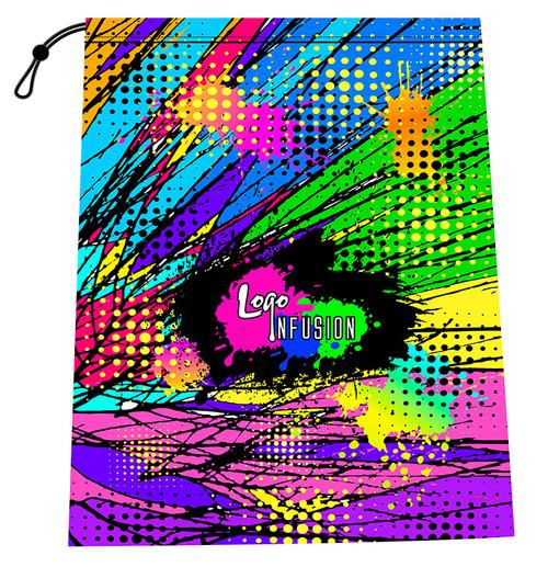 Logo Infusion Comic Book Shoe Bag