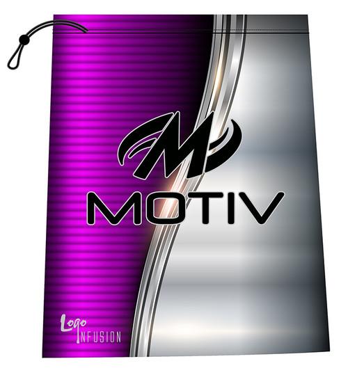 Motiv Pink and Metal Shoe Bag