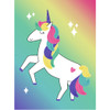 "Pin the Horn on the Unicorn Poster Game 20"" x 27"""