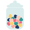 Candy Jar of Hearts
