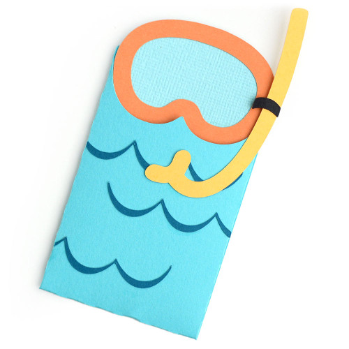 Snorkel Gift Card Envelope