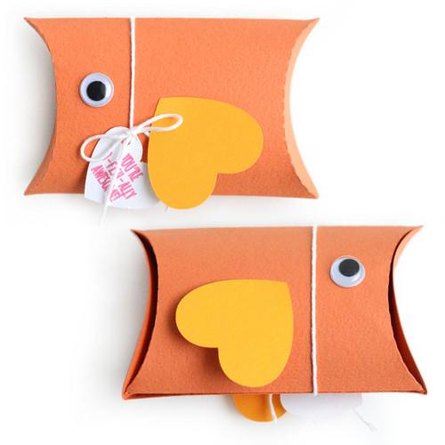 Pillow Box: Fish
