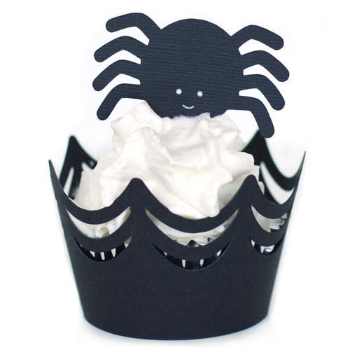 Spider Web Cupcake Wrapper