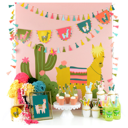 Cactus and Llama Party Pack