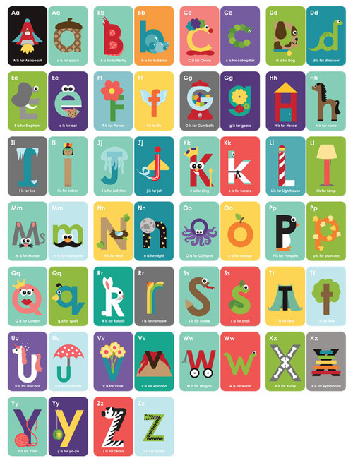 Amazon.com : Nerdy Baby ABC Flashcards for Very Young Scientists ...