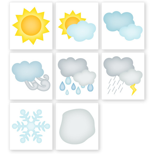 Calendar: Weather Cards