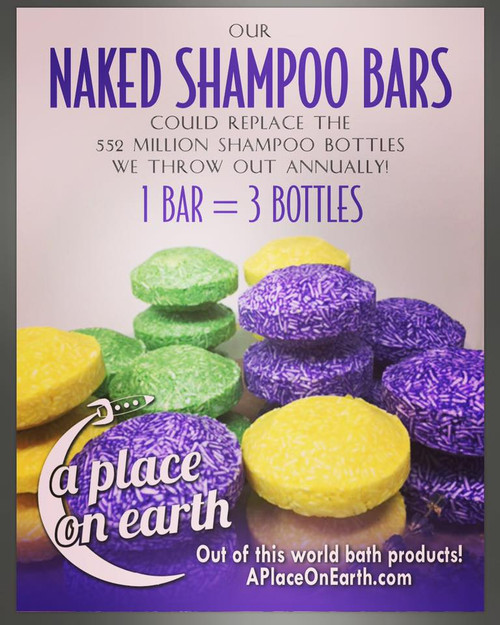Naked Shampoo Bar Lemongrass