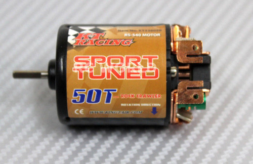 RC 1/10 Sport Tuned Motor For RC TRUCK Rock Crawler 50T High Torque