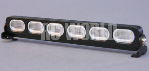 R C Scale Accessories Metal LIGHT BAR WITH L.E.D LED LIGHTS